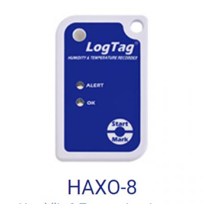 Thiết bị ghi nhiệt độ và độ ẩm LogTag: HAXO-8